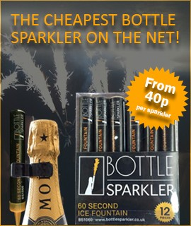 Cheapest Bottle Sparkler On The Net
